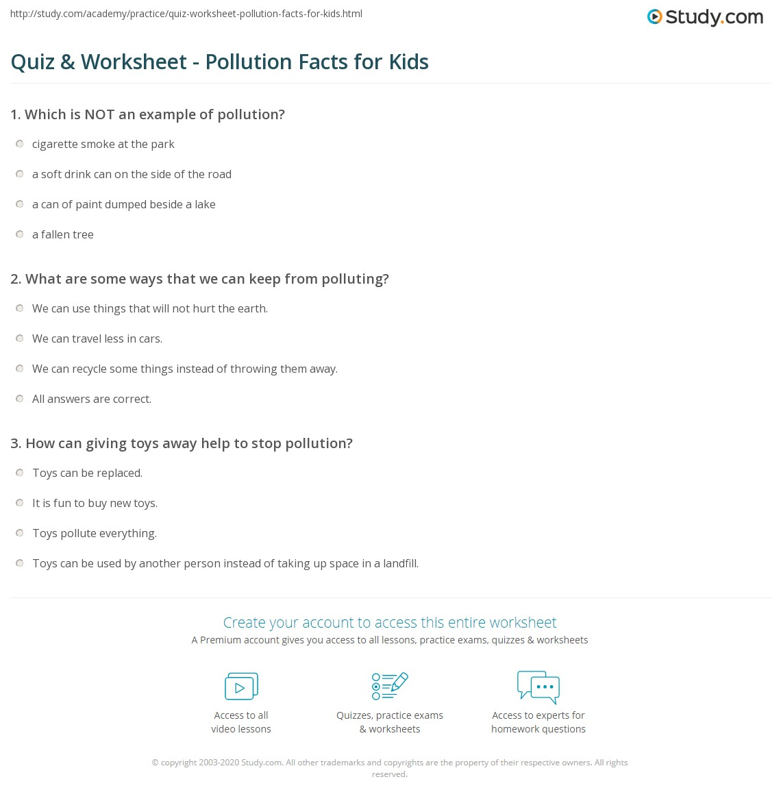 quiz-worksheet-pollution-facts-for-kids Take Away Math Worksheets For Grade on math kangaroo grade 1, tenses worksheet grade 1, math activity sheets for 1st graders, adding and subtracting worksheets grade 1, math addition subtraction worksheets grade 1, printables for grade 1, reading for grade 1, vowels worksheet for grade 1, subtraction for grade 1, word list grade 1, eureka math grade 1, language worksheets grade 1, math minutes 1 grade 3, mental math worksheet grade 1, books grade 1, reading worksheets grade 1, envision math grade 1, comprehension for grade 1, fun activities for grade 1,