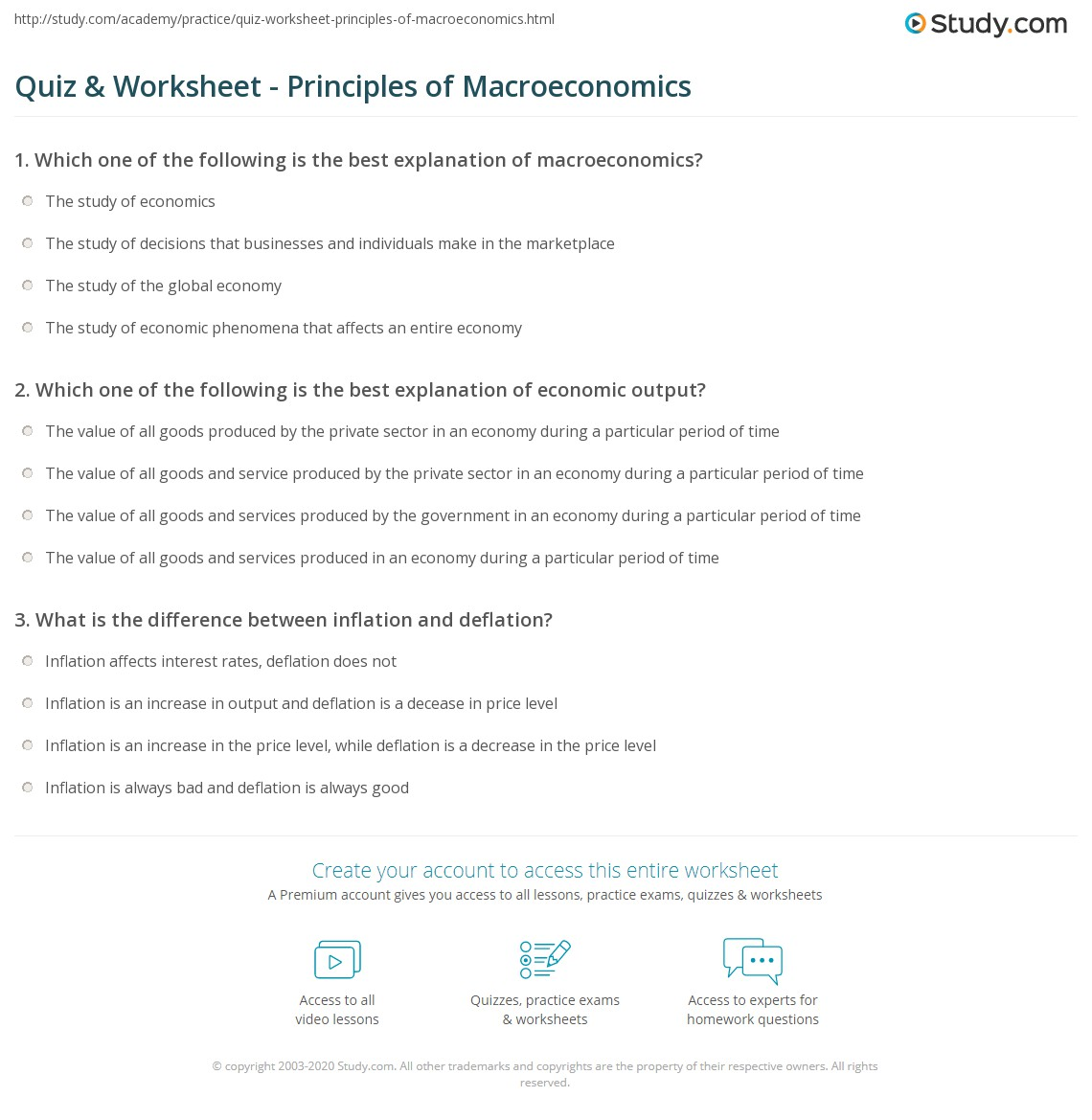 the study of macroeconomics Define macroeconomics macroeconomics synonyms, macroeconomics  the  study of the overall aspects and workings of a national economy, such as income, .