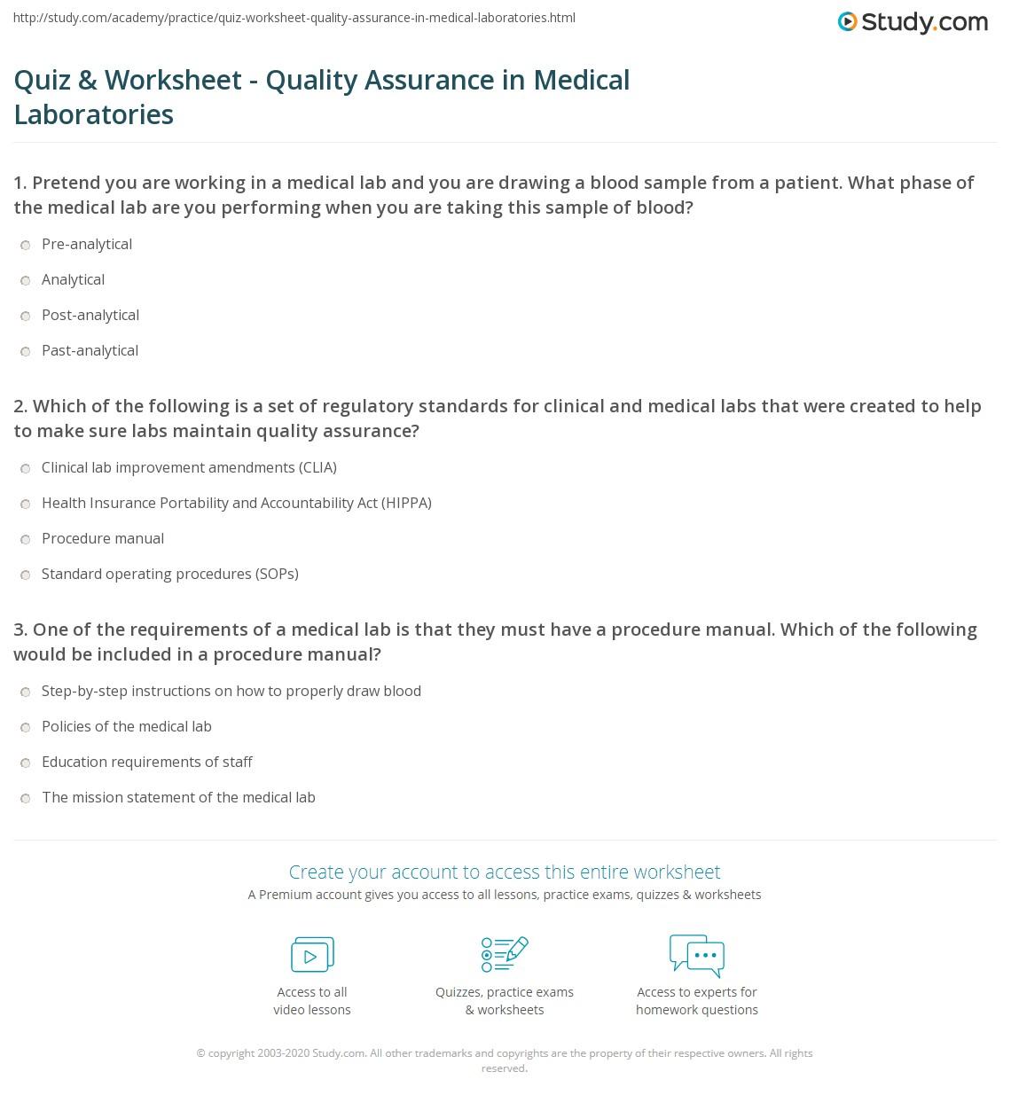 Mlt Practice Quiz