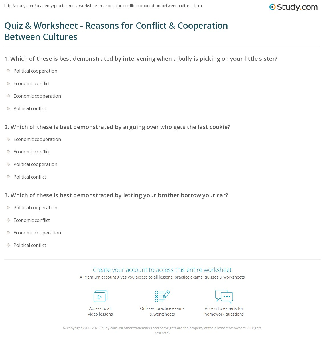 32 Conflict And Cooperation Worksheet Answers Worksheet Project List These conflict worksheets will help students achieve mastery of this basic reading skill. worksheet project list