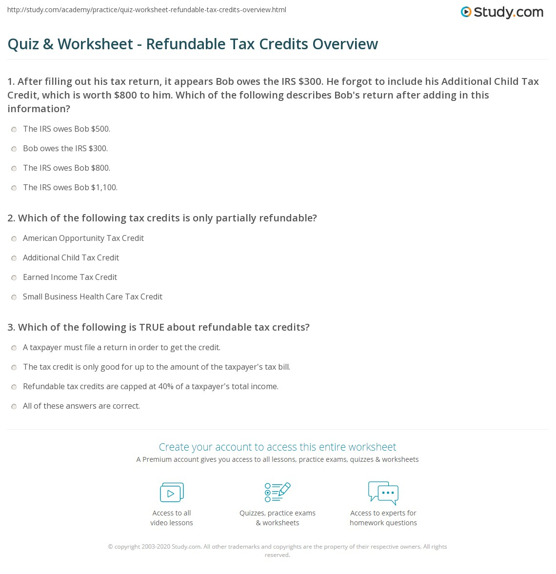 Worksheets irs child tax credit worksheet citysalvageanddesign worksheets irs child tax credit worksheet quiz worksheet refundable tax credits overview study com print definition falaconquin