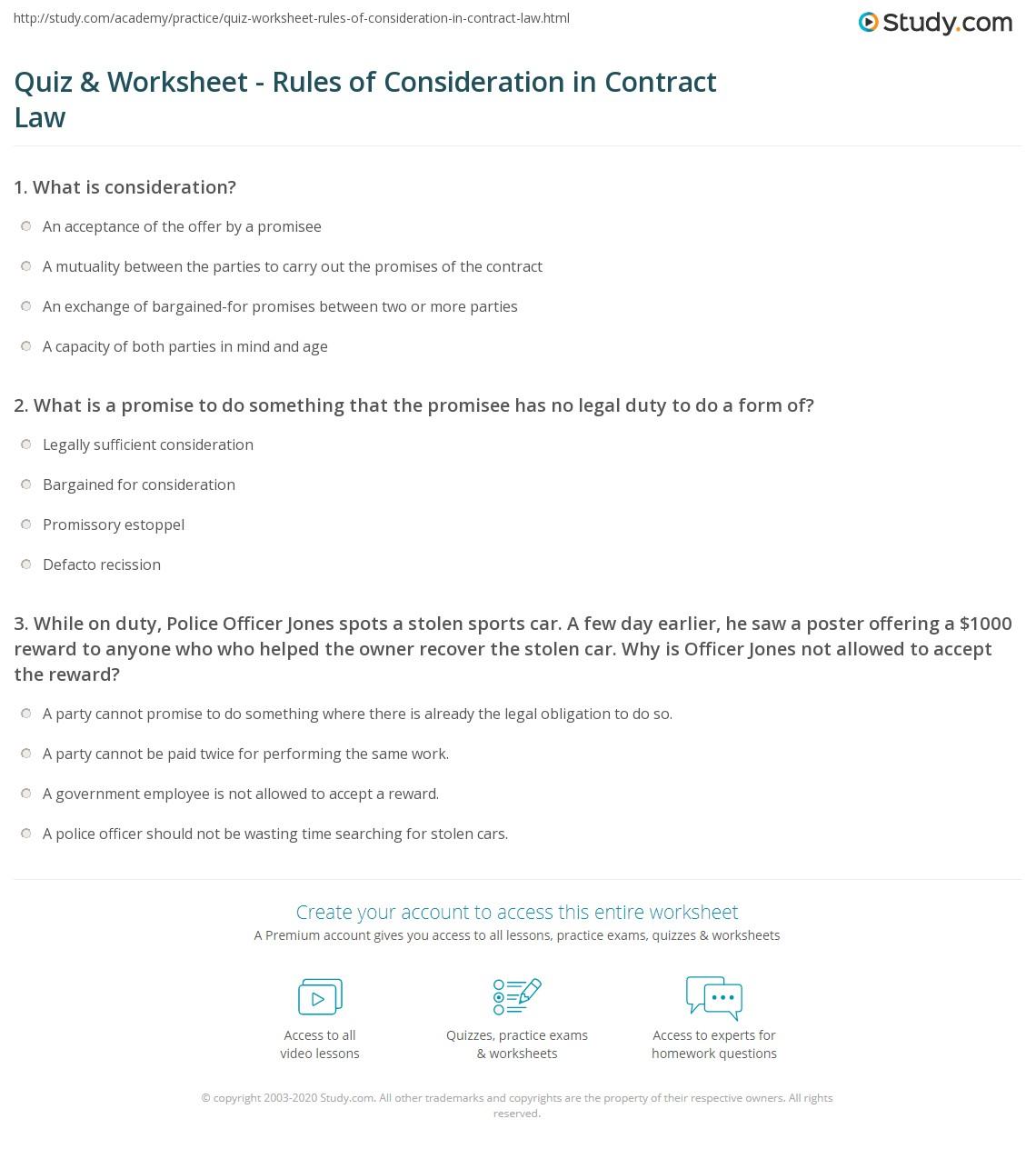 Highschool Worksheet Questions For Car Insurance