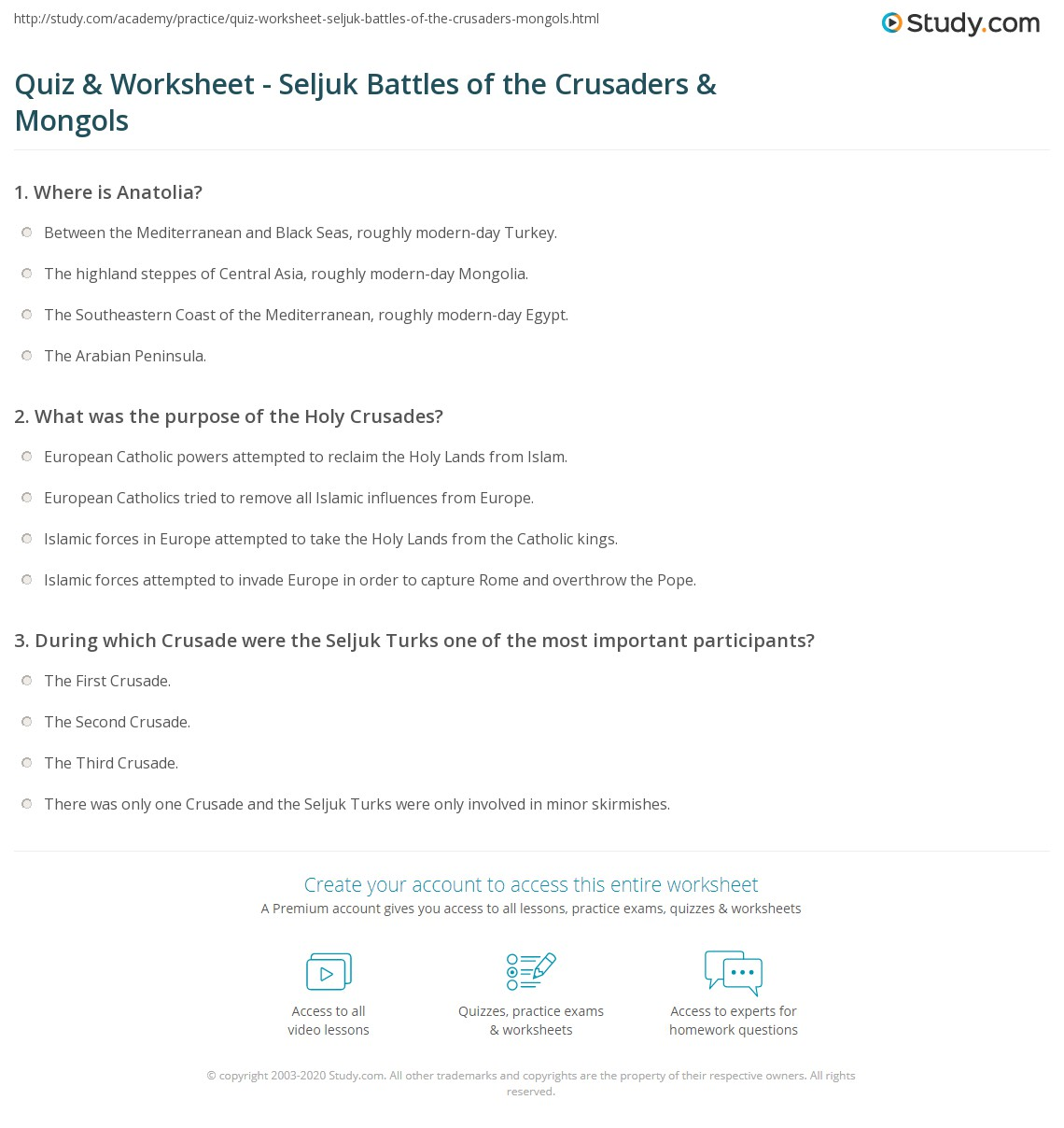 essay questions about the crusades