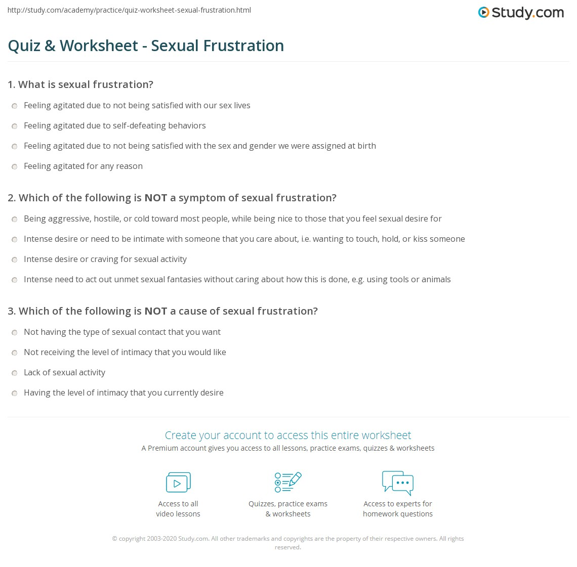 Sexual fantasy quiz