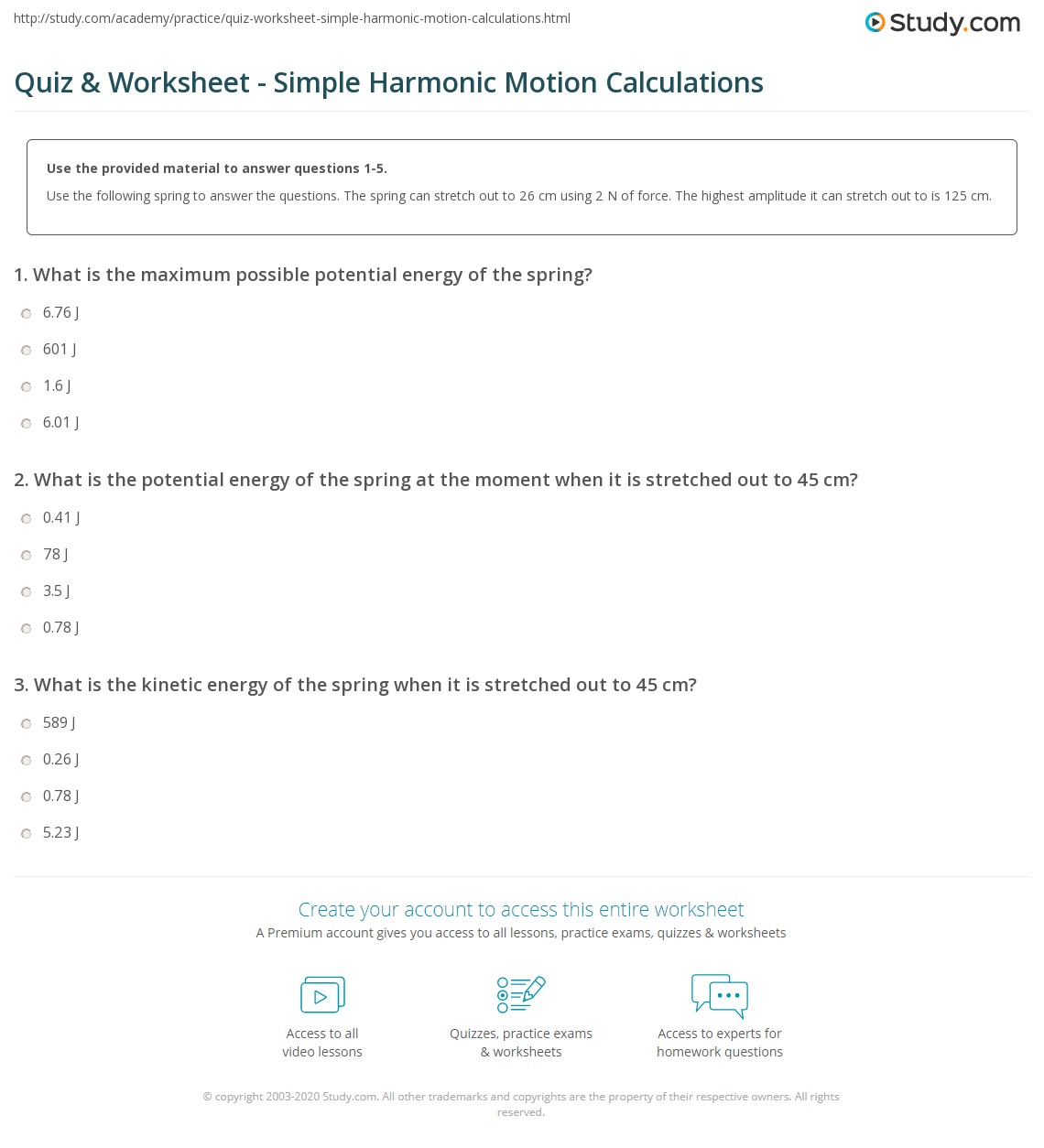 simple harmonic motion shm of a simple pendulum essay Lab partners introduction the lab experiment investigates the motion of a mass on a spring as an example of simple harmonic motion other examples are.