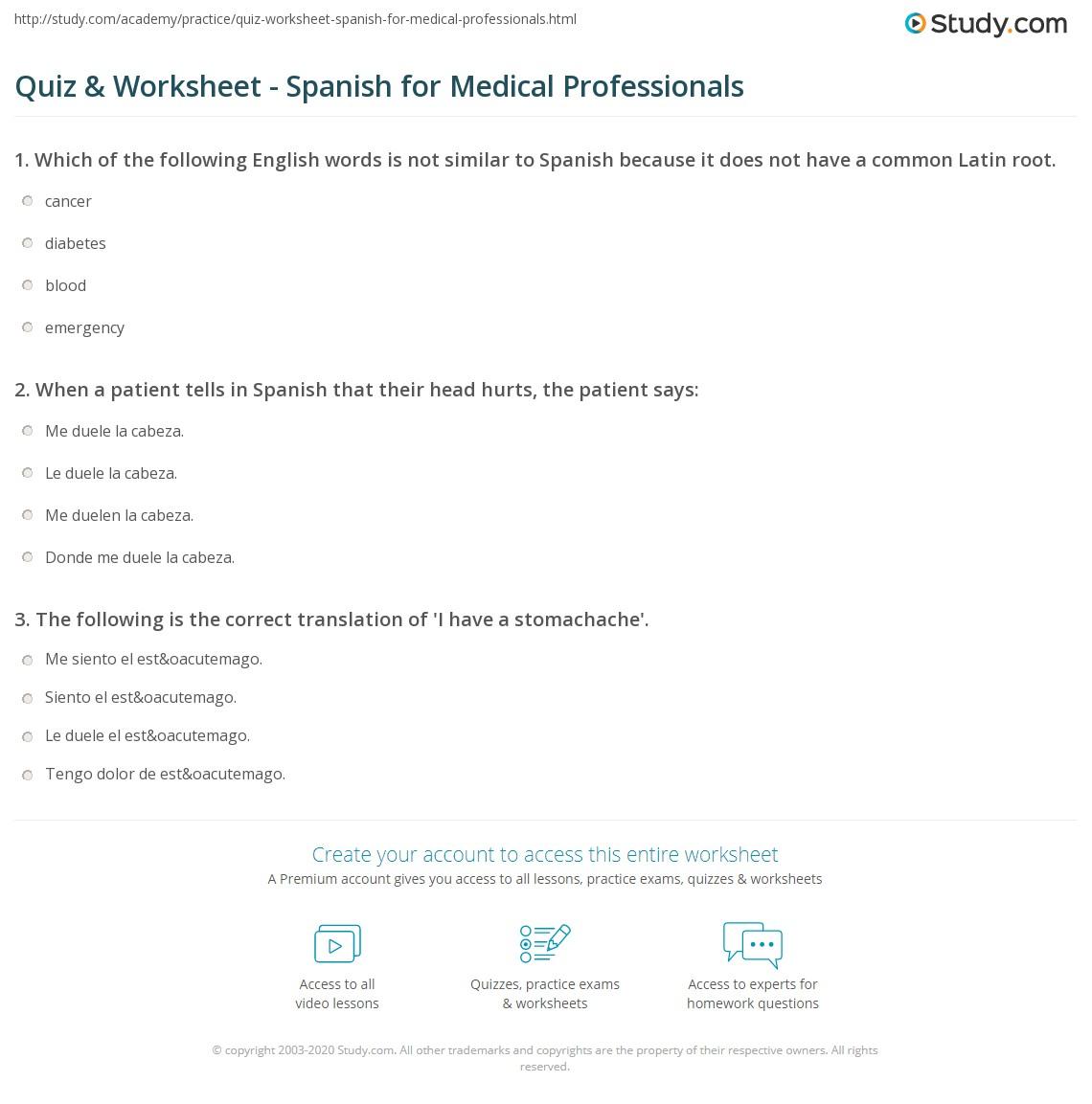 Professionals - Columbus Spanish Place