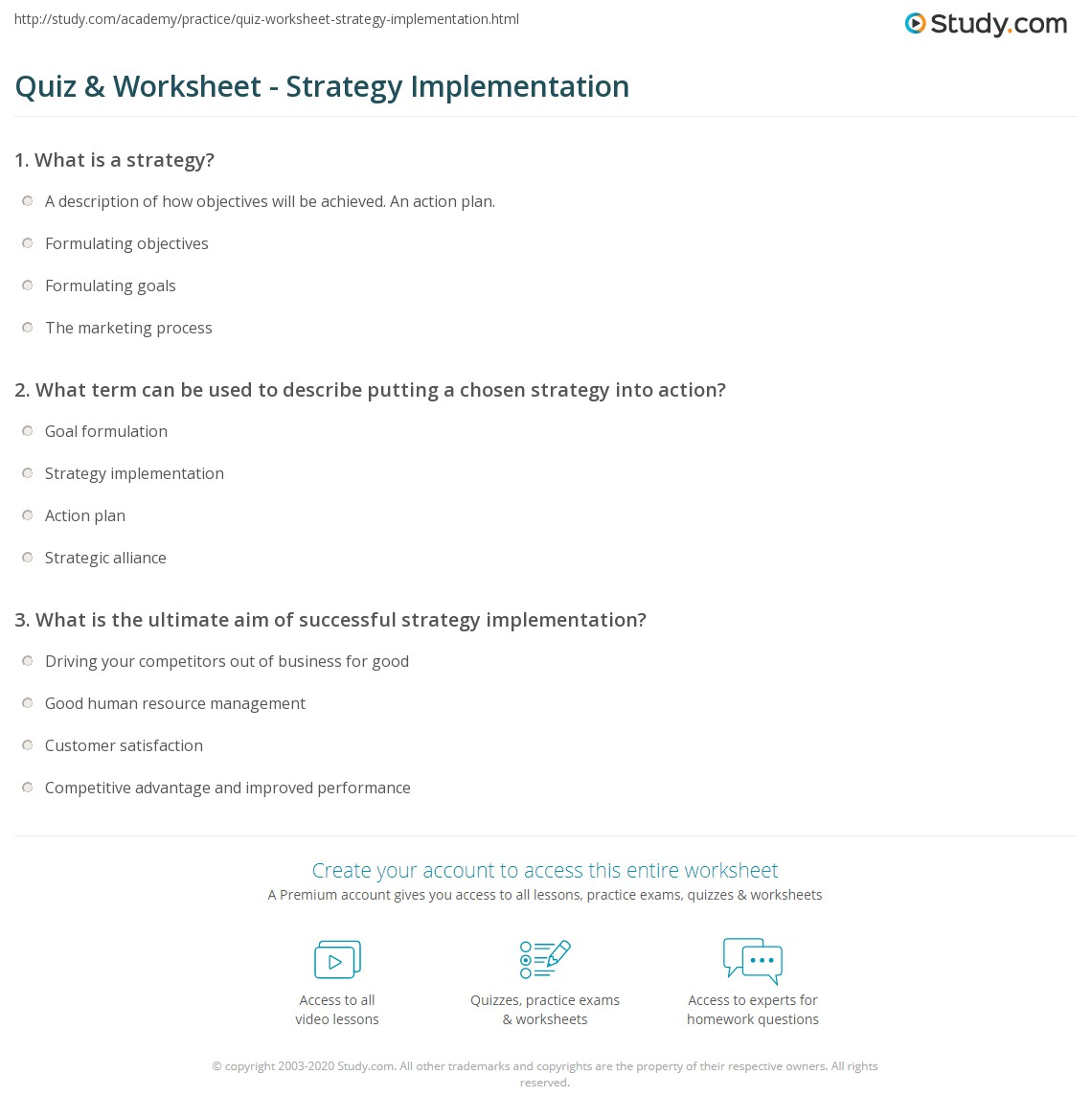 What is an implementation