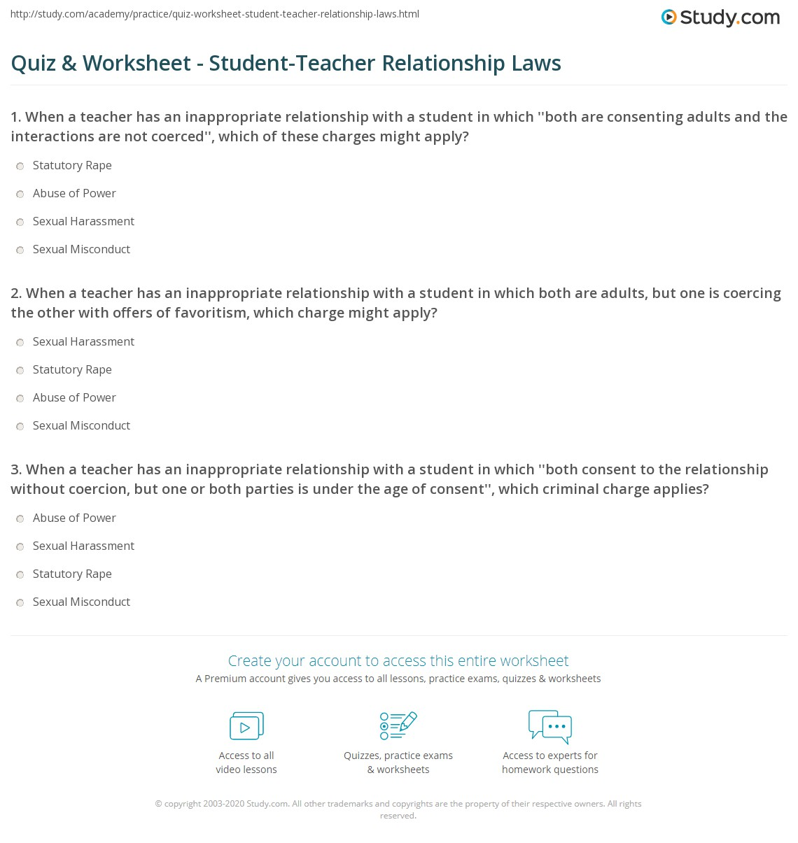 what should be the relationship between teachers and students
