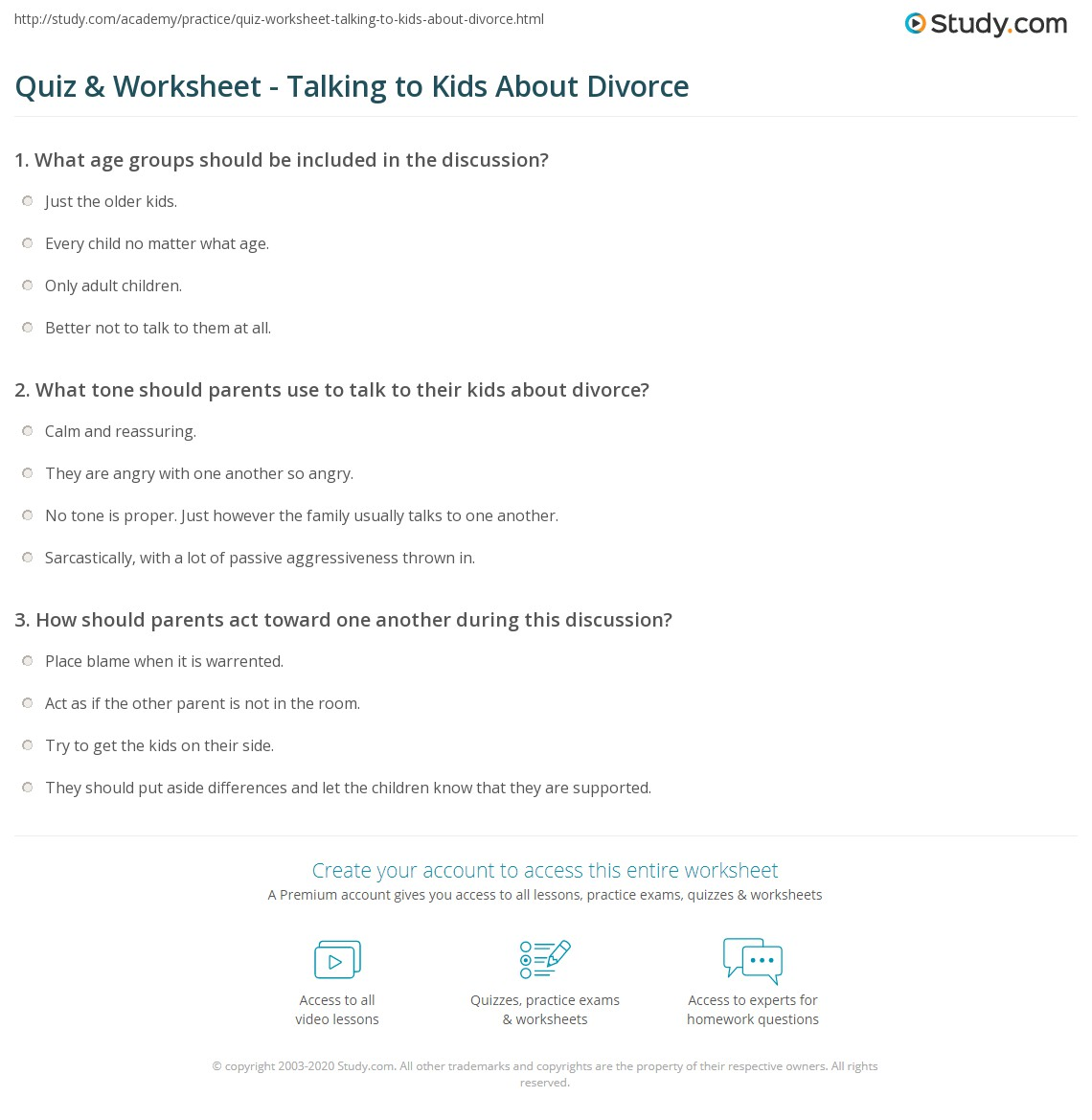 How to talk to children about divorce 74