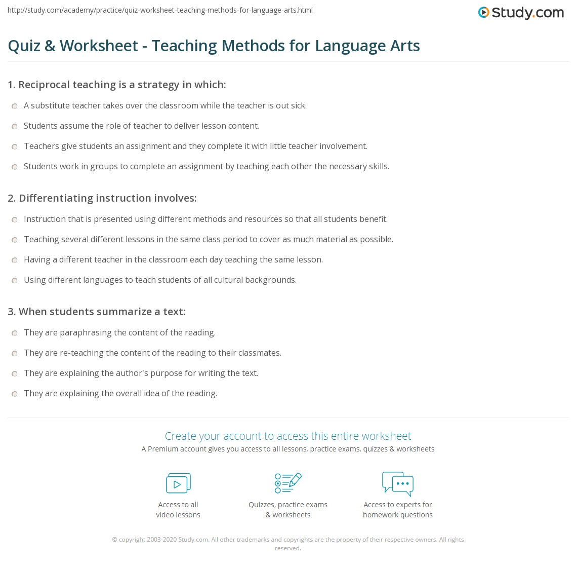 sample questions of language teaching methodology The sample group in the study consisted of 60 pre-service teachers  language,  unexpected questions, a low level of motivation and interest  that shows the  significance, purpose, methodology and tool of the research.