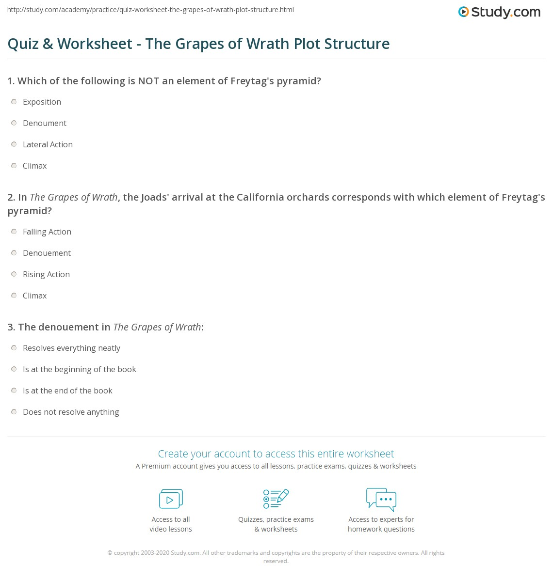 plot questions and answers regarding the book grapes of wrath Grapes of wrath is a novel by john steinbeck published in 1939 and centering around a family of sharecroppers  9 books from the 1930s that still resonate today.