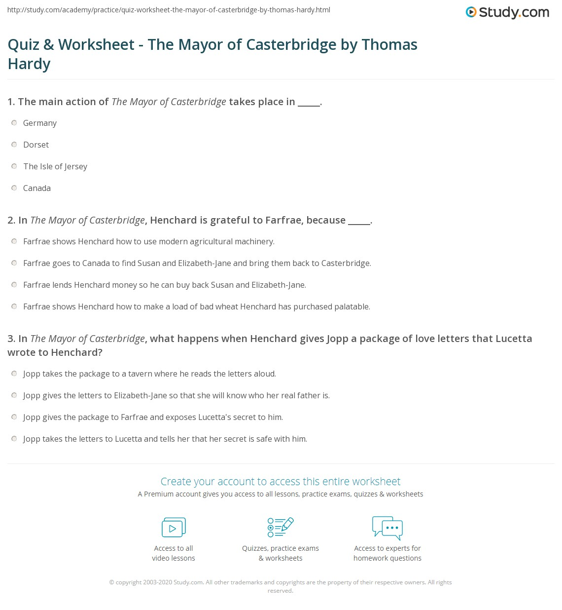 an analysis of modernization in the mayor of casterbridge by thomas hardy The mayor of casterbridge thomas hardy share home summary and analysis chapter 2 and in the first scene or two of modern plays.