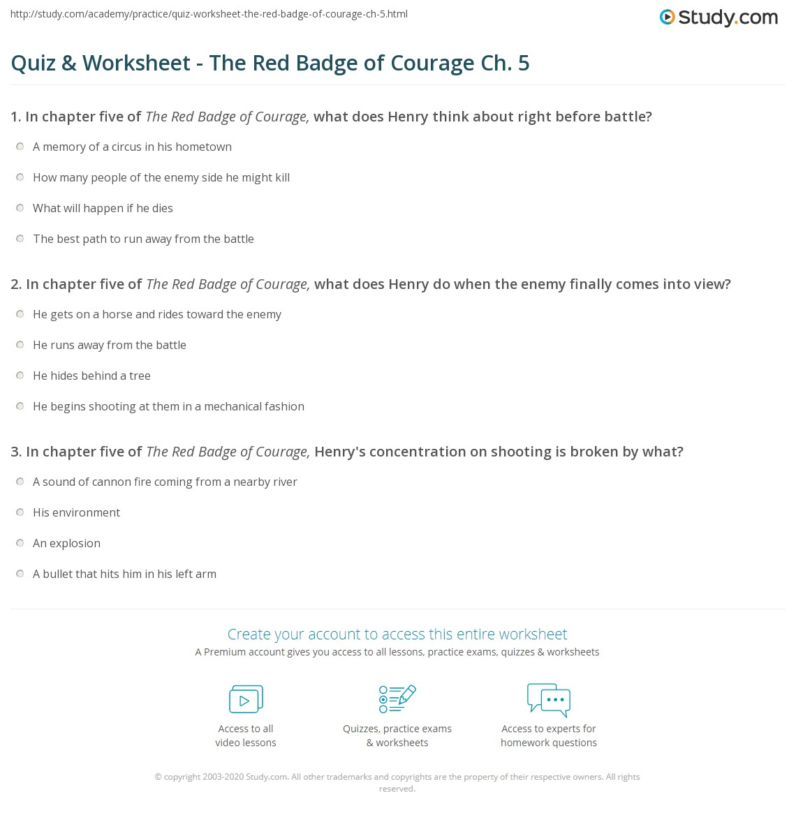 The Red Badge Of Courage Essay The Red Badge Of Courage Wikipedia  Red Badge Of Courage Summary Essay Essay Quiz Worksheet The Red Badge Of  Courage Ch Study Buy A Presentation also Universal Health Care Essay  Essays On Science And Technology