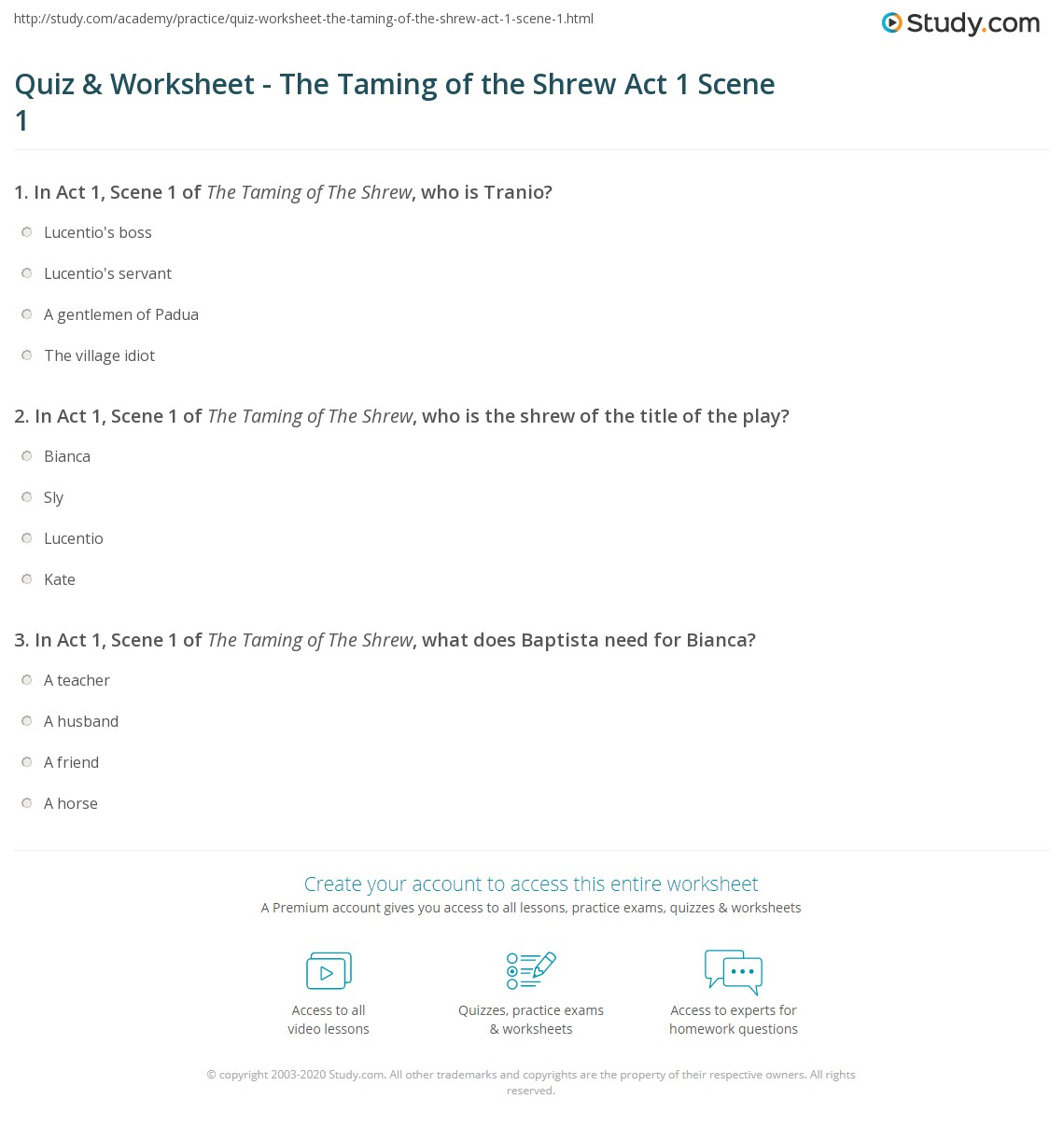 The taming of the shrew teaching resources | teachers pay teachers.