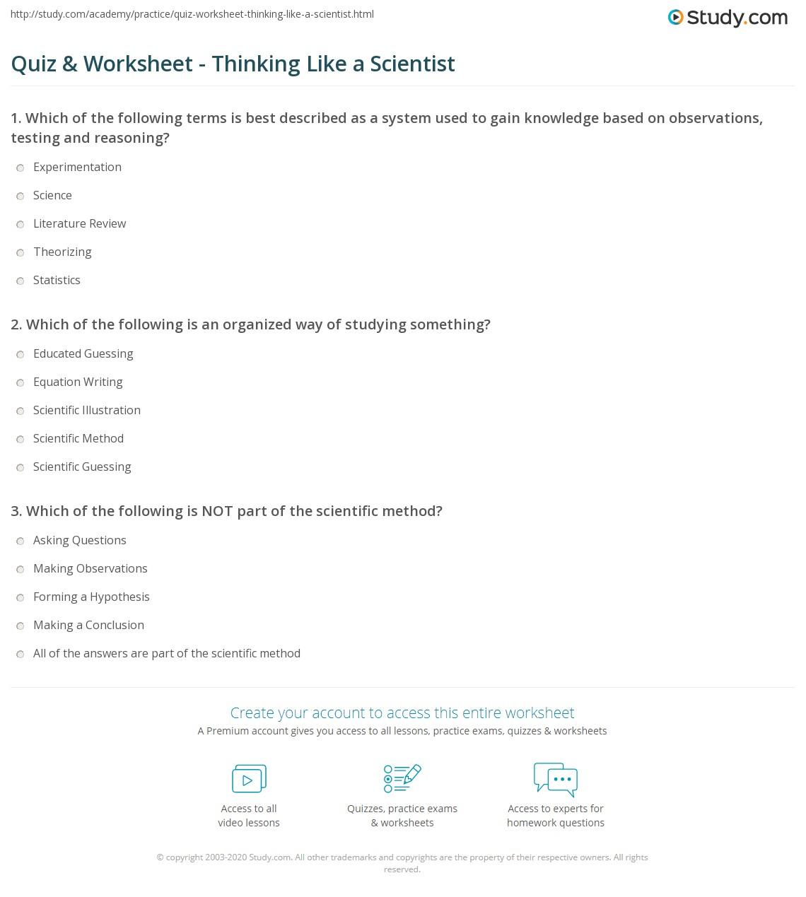 AP Worksheets