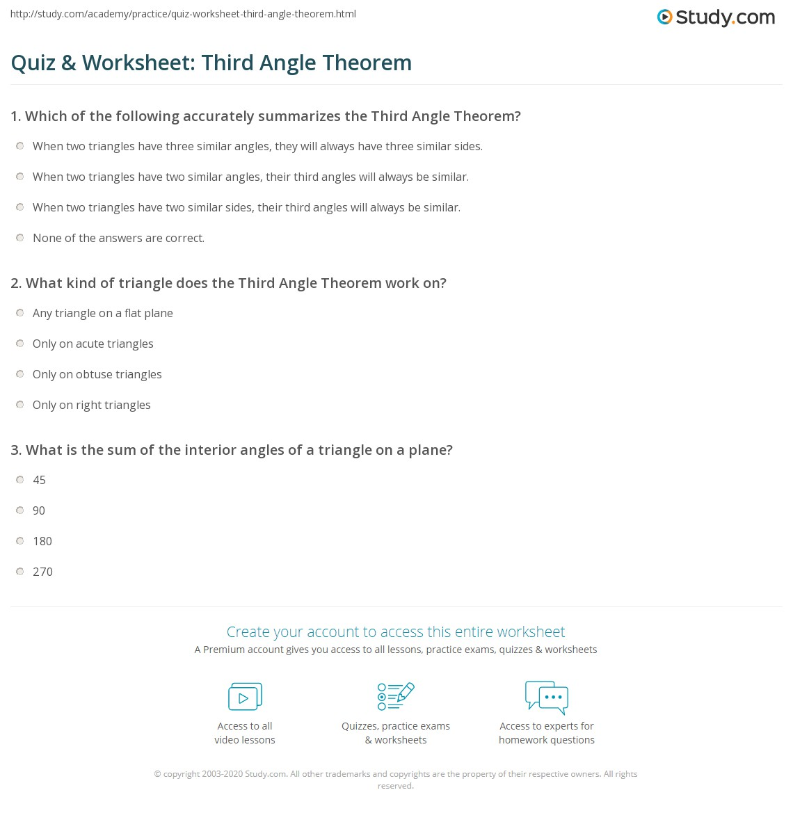Theorem S Interior Angles Of A Polygon Worksheet D The Art Gallery Triangle Sum And Exterior Angle