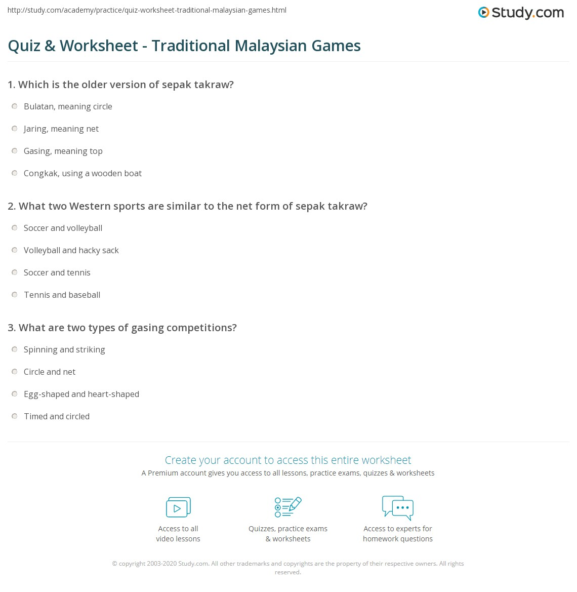 traditional games in malaysia