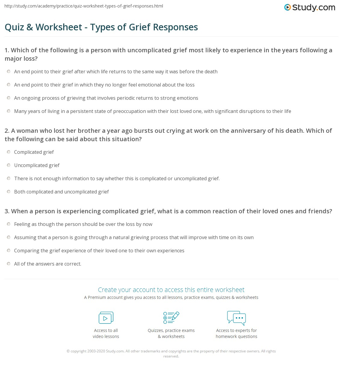 Worksheets Grief Worksheets Citysalvageanddesign Free Worksheets