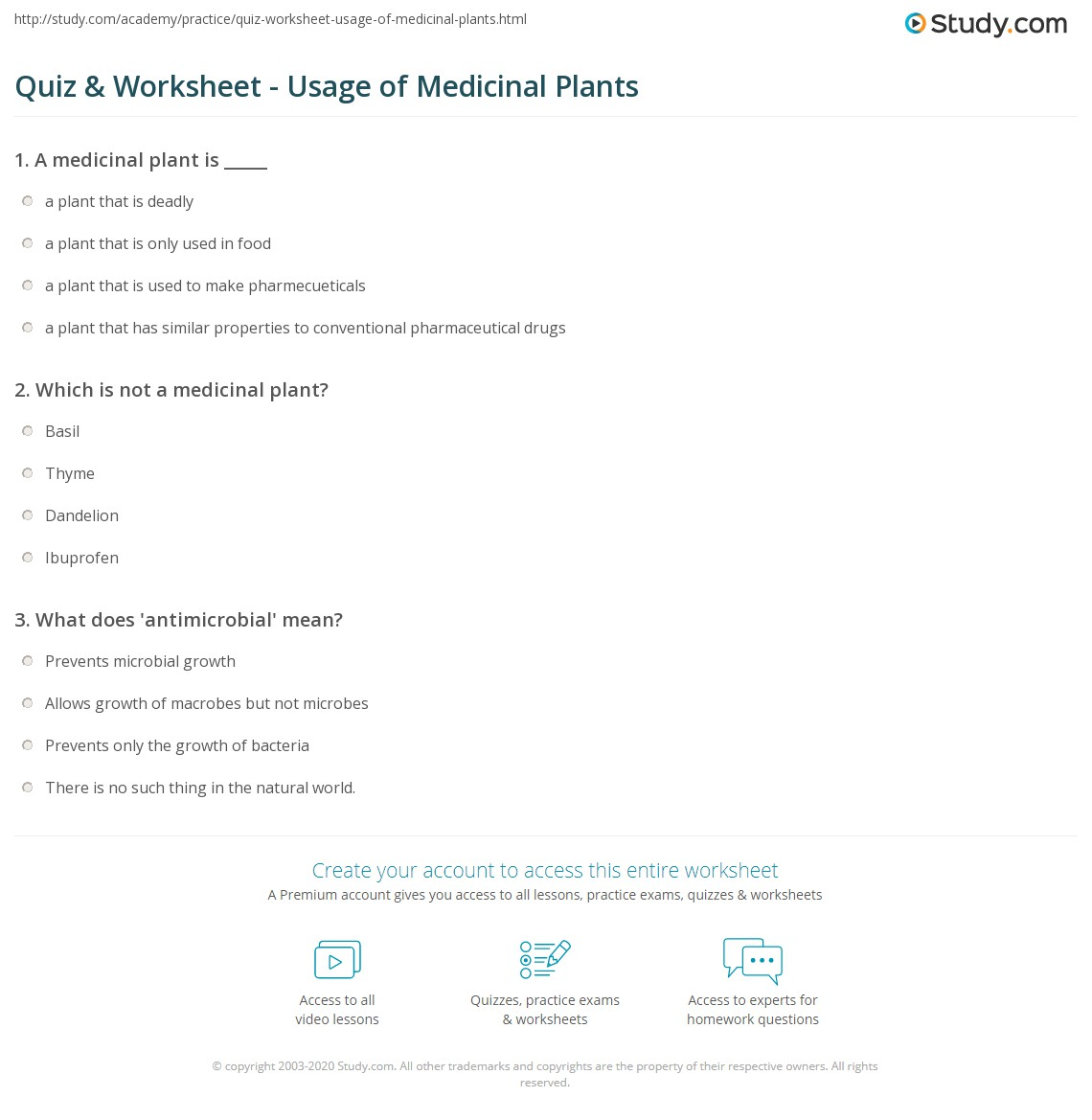 plant questions and answers