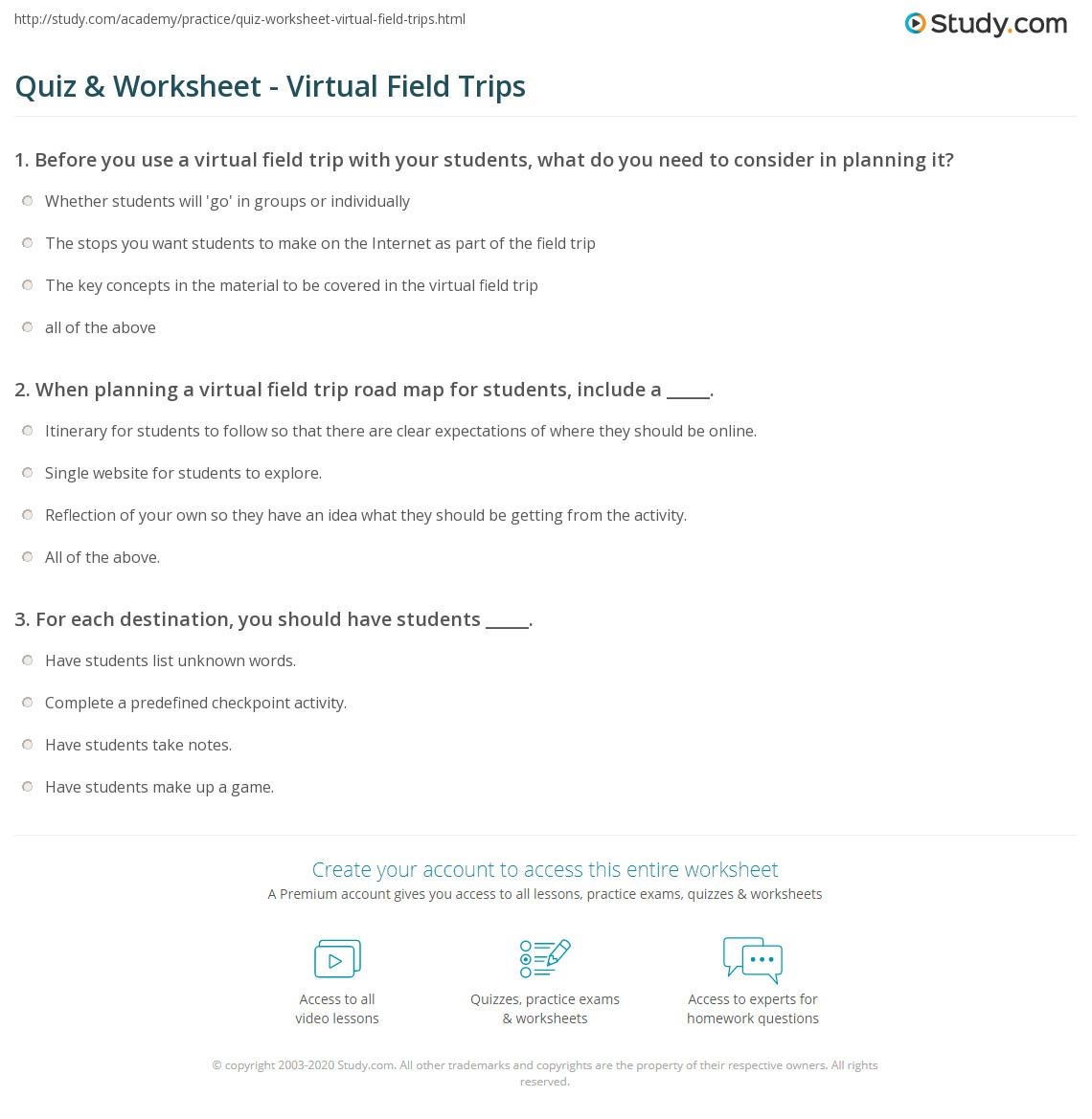 Smithsonian Education - Ask Yourself Field Trip Guide