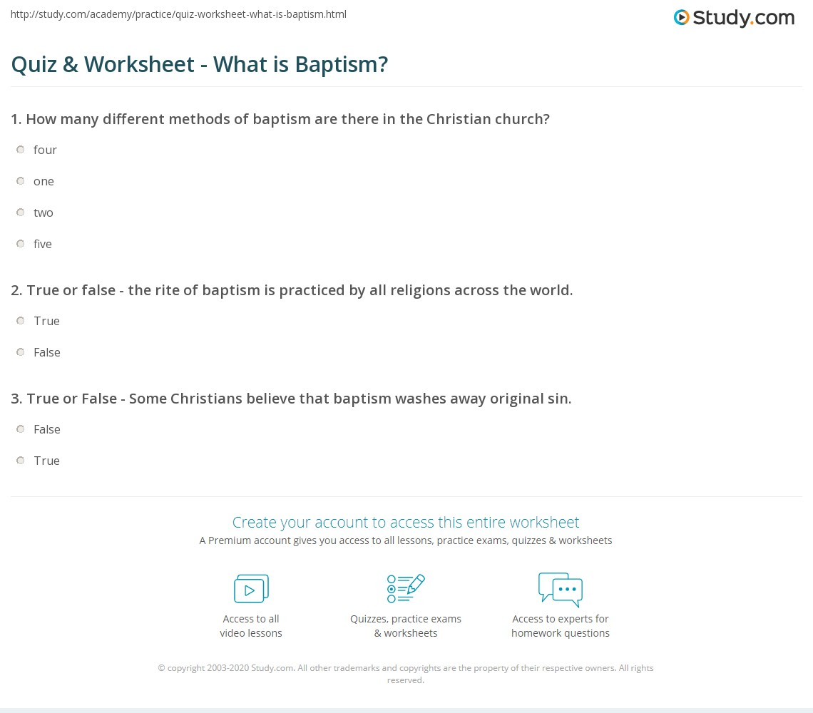 an analysis of the religious idea behind the christian practice of baptism An accurate definition of baptism helps reveal the origin and mode of this simple yet controversial practice of the church considering that this practice began long before john the baptist in the wilderness, an examination of pre.