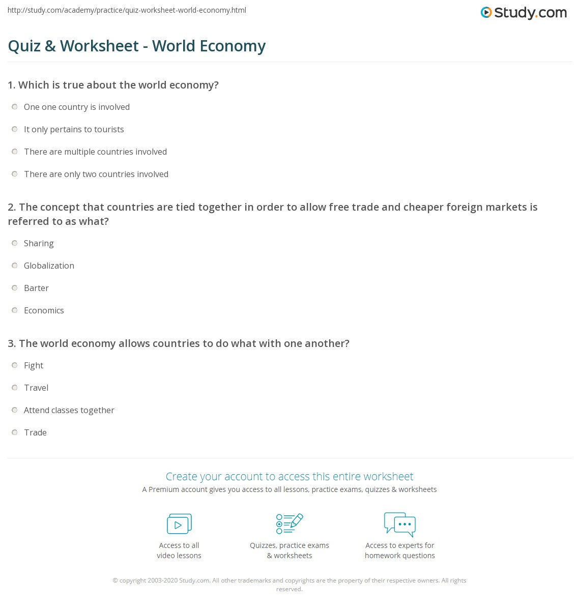 Economics gdp worksheet answers