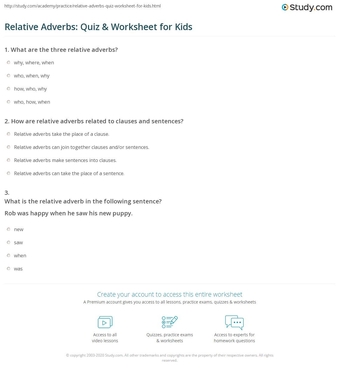 4th grade grammar worksheets adverbs