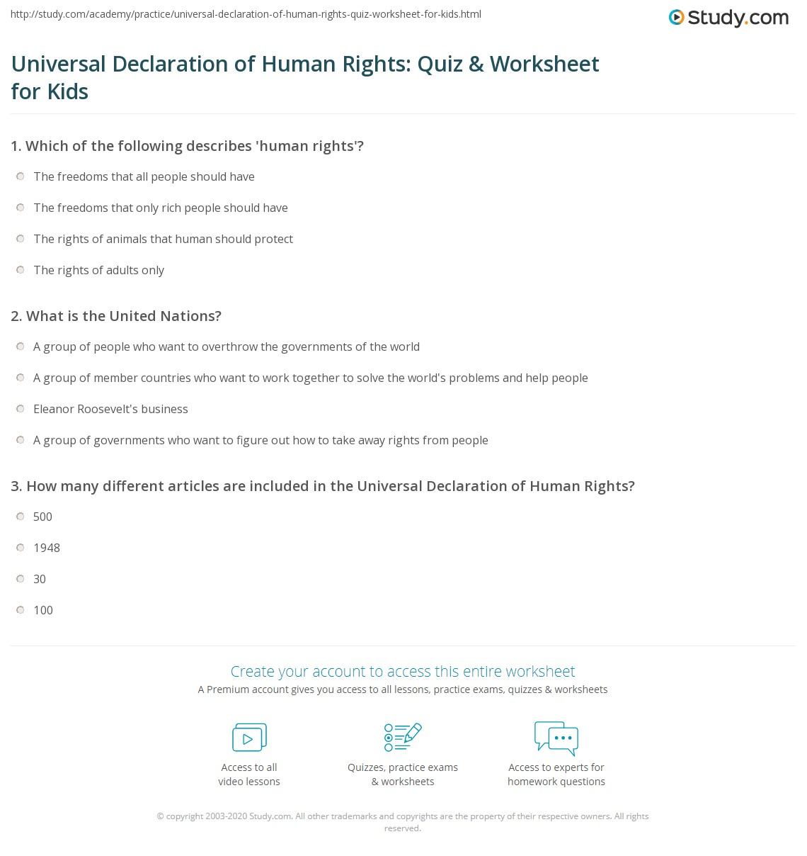 european declaration of human rights pdf