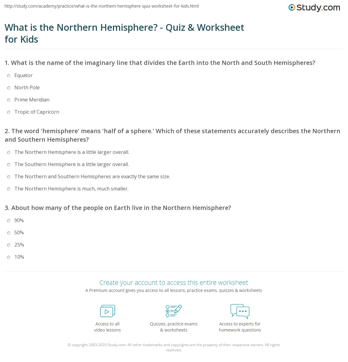 Worksheets Hemisphere Worksheet what is the northern hemisphere quiz worksheet for kids study com print lesson definition facts worksheet