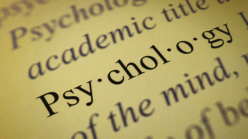 how to study psychology online