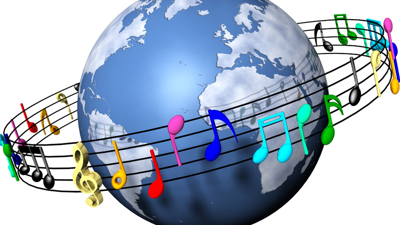 Image result for music around the world