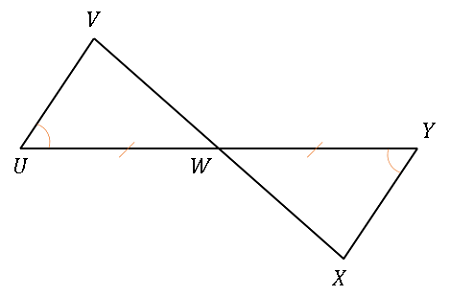 Determine If The Triangles In The Figure Are Congruent If So Write The Congruency Statement And The Reason The Triangles Are Congruent Study Com