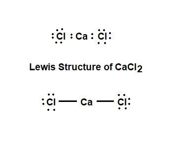 Draw The Lewis Structure For Calcium Chloride Study Com