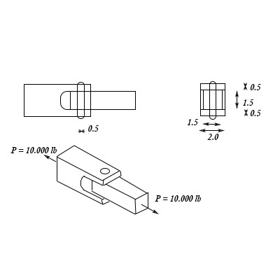 tension diagramme a tension joint has the basic layout shown in the diagram below  basic layout shown in the diagram below
