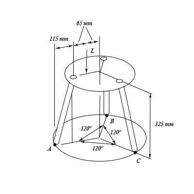 Strange A Three Legged Stool Is Subjected To The Load L Determine Inzonedesignstudio Interior Chair Design Inzonedesignstudiocom