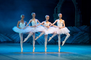 Ballerinas Performing Swan Lake