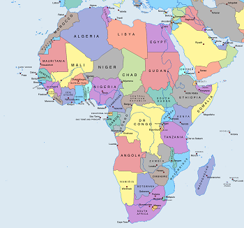 Africa political map games study africa political map gumiabroncs Image collections