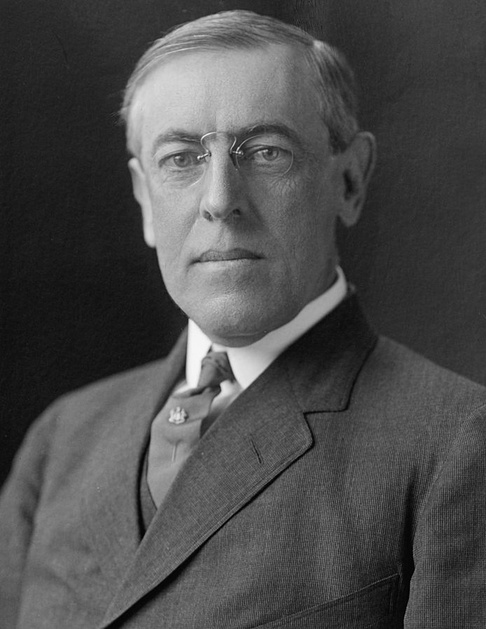 Image result for Thomas Woodrow Wilson