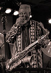 Pharoah Sanders. Photo by Dmitry Scherbie.