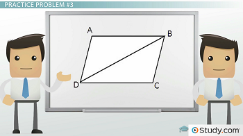 Shape ABCD with add hypotenuse BD