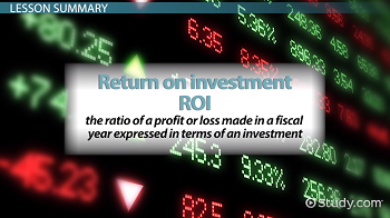 return on investment definition pdf