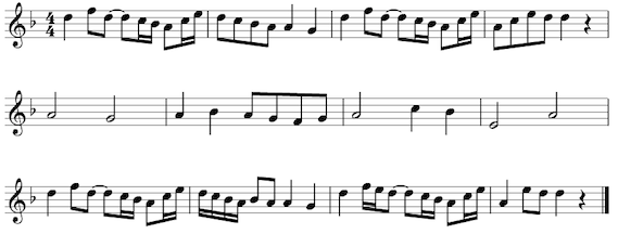 an analysis of the form of musical notation Music notation serves as one example of an innovation that is both lauded and derided  optimum form of musical practice up to this pointin the evolution of notation neumatic notation.