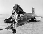 Neil Armstrong with the X15