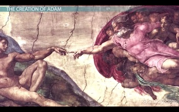 creation of adam with grime and soot