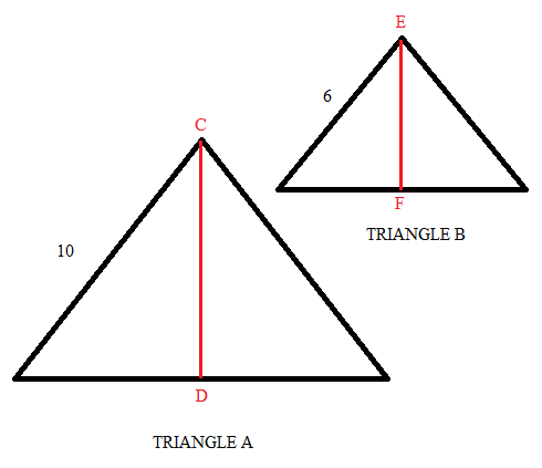quiz worksheet proportional triangles study com