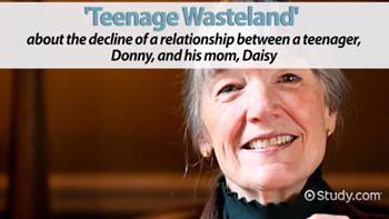 Teenage Wasteland Summary Analysis Video Lesson Transcript