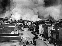 San Francisco after Earthquake of 1906