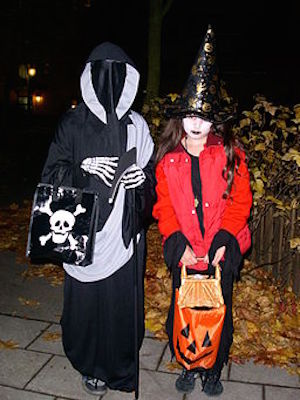 Trick-or-Treating Children