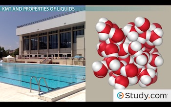 pool and molecular structure of water