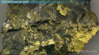 Large piece of gold ore